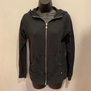 Black Victoria Secret zip up sweatshirt
